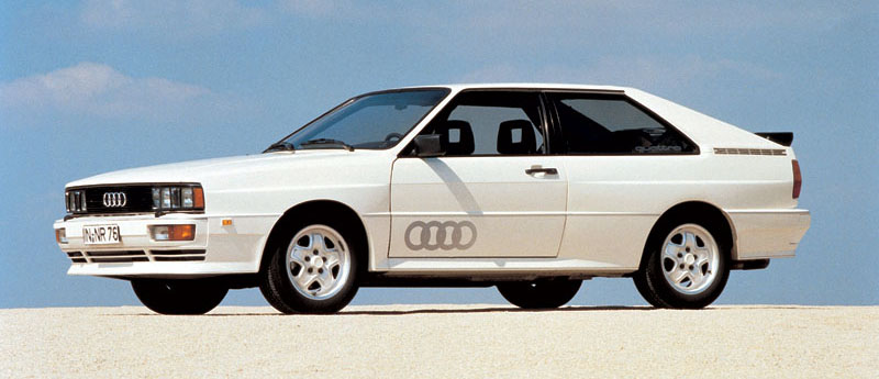 Audi Quattro преди 30 години